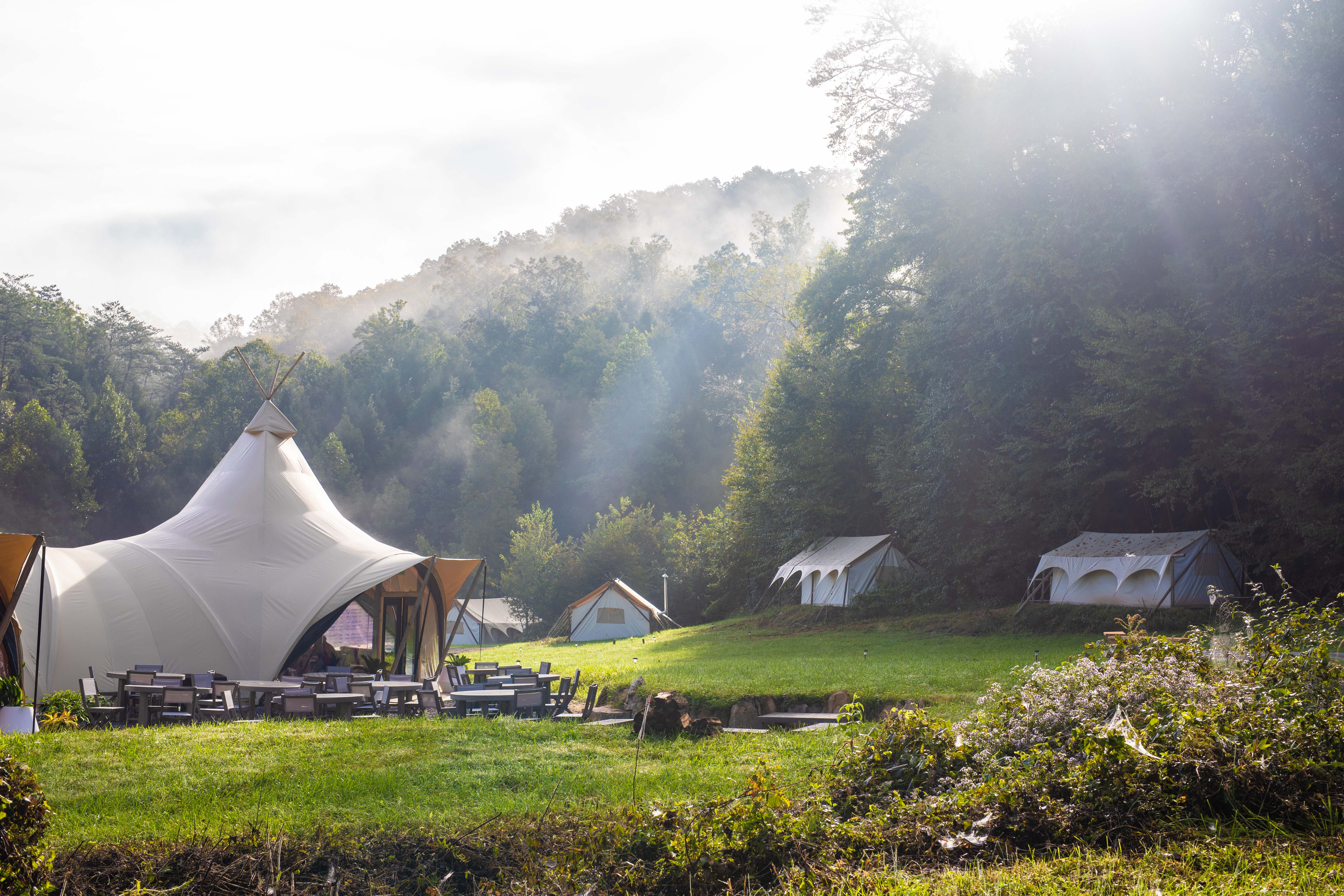 Under Canvas Smokey Mountains